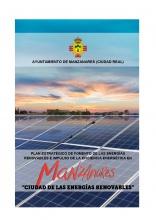 Portada del plan estratégico Manzanares ciudad de las energías renovables