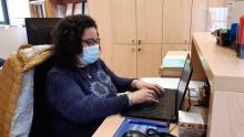 María ha realizado labores administrativas en el Servicio Técnico
