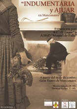 'Indumentaria y ajuar' en el Hall del Gran Teatro de Manzanares