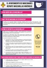 Instrucciones para la recogida de mascarillas higiénicas del Ayuntamiento de Manzanares