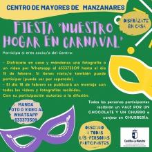 Fiesta 'Nuestro hogar en carnaval' del Centro de Mayores