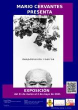 Cartel de la exposición de Mario Cervantes