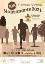 Carrera virtual 10k Manzanares 2021