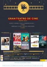Cine en el Gran Teatro para mayo