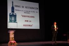 Óscar Parada presentó el acto