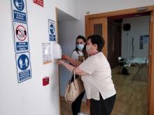 Reapertura del Centro de Mayores de Manzanares tras la pandemia