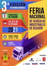 Cartel de la Feria Nacional de Vehículos Industriales de Ocasión 2021