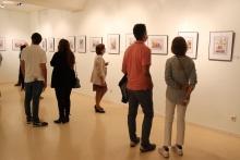 Visita a la exposición Acuarelas de Gonzalo Serrano