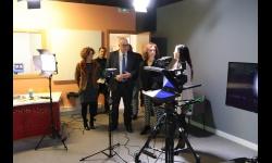 Visita de la subdelegada del Gobierno a Manzanares10TV