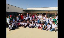 Manzanares vuelve a convertirse en el punto de acogida de los menores de 'Vacaciones en paz'