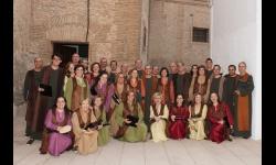 Coro Mansil Nahar en foto de archivo