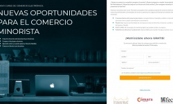 Curso de comercio electrónico 'Nuevas oportunidades para el comercio minorista'