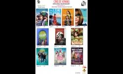 Cartelera del cine de verano mes de agosto