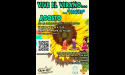 Cartel de 'Vive el Verano... Peques'