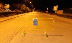 Calle Víctimas del Terrorismo el sábado a la una de la madrugada