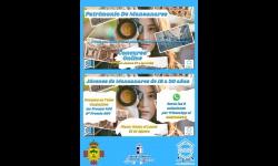 Cartel de la Casa de la Juventud en 'Patrimonio de Manzanares'
