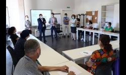 Inicio del taller 'Emple@ Manzanares III'