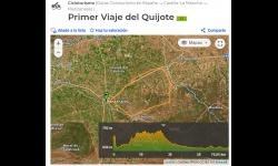 Juventud comparte el track de la ruta cicloturista suspendida por las medidas de prevención de la COVID-19