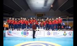 En la selección de balonmano cadete femenina de Castilla-La Mancha hubo tres jugadoras manzanareñas en el último campeonato de España