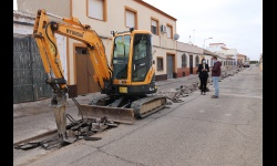 Comienzo de las obras en la calle Misericordia