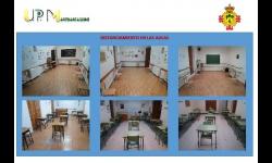 Imágenes del distanciamiento en las aulas