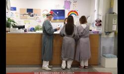 Esta imagen del área de Urgencias del hospital ilustrará el mes de enero