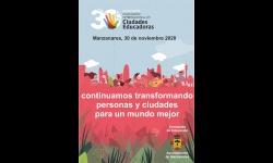 Cartel de la conmemoración del día de la Ciudad Educadora 2020
