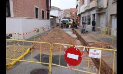 Obras en la calle Lope de Vega