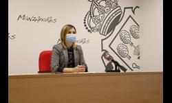 Comparecencia de Laura Carrillo para dar a conocer los acuerdos municipales
