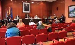 Imagen del pleno celebrado en enero