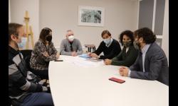 Reunión de técnicos municipales y de la ONCE