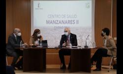 Nieva interviene en la presentación del plan funcional del Centro de Salud Manzanares II