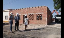 Visita a las obras del nuevo centro de día para mayores de 50 años del Centro Ocupacional