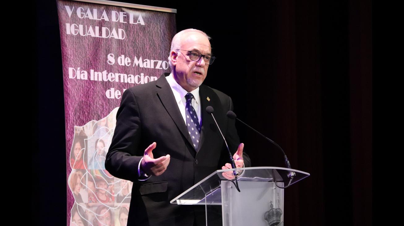 Julián Nieva en la V Gala de la Igualdad