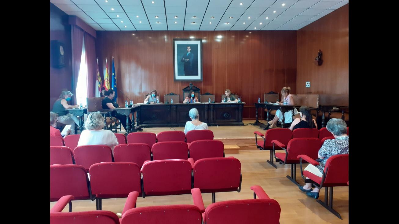 Momento de la sesión ordinaria del Consejo de Cooperación