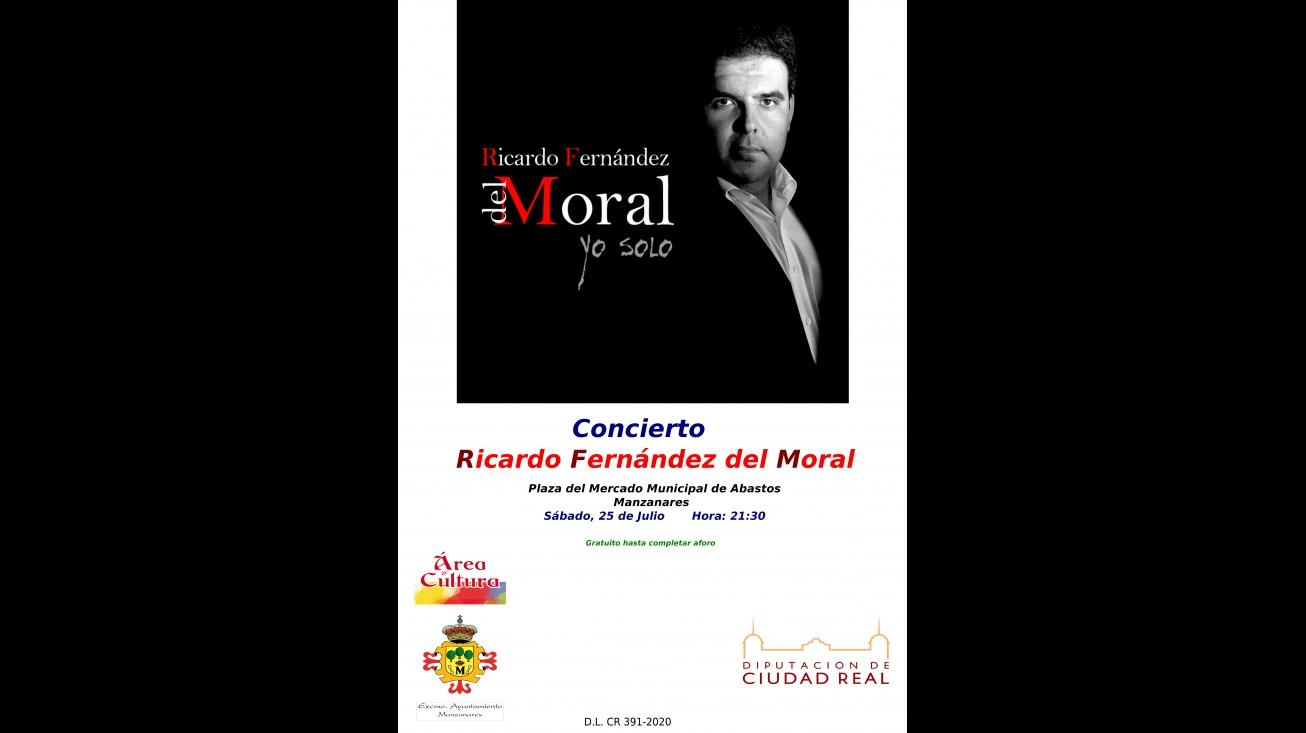 Cartel del concierto de Ricardo Fernández del Moral