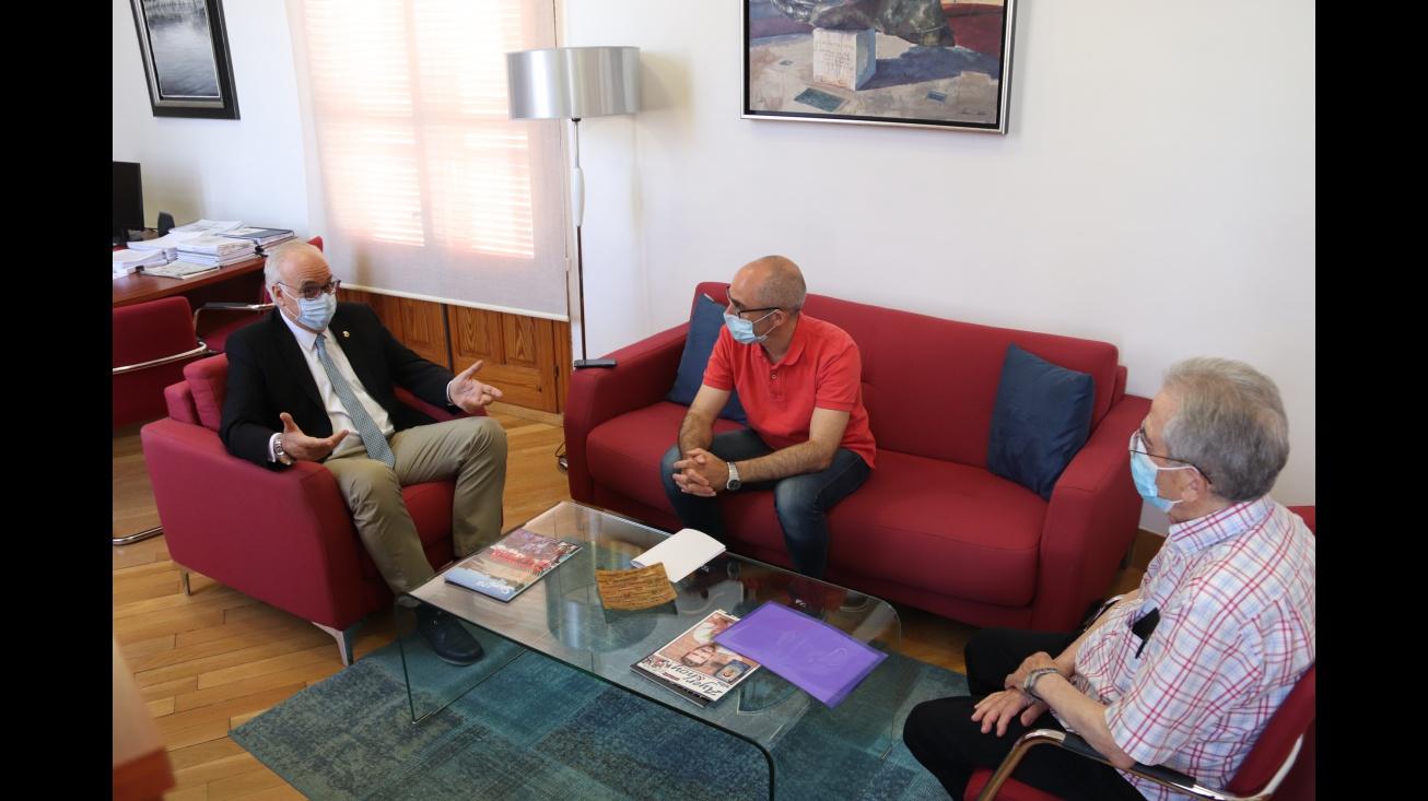 Reunión de Nieva con Díaz-Portales y Román Orozco