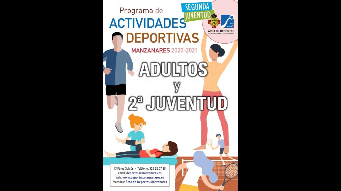 Programa de actividades deportivas para adultos y Segunda Juventud 2020