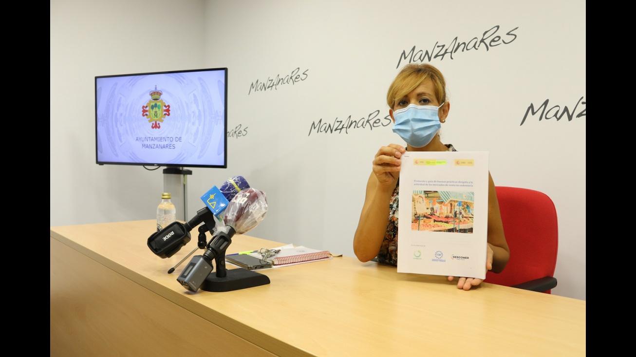 Silvia Cebrián anuncia la reapertura del mercadillo tras COVID-19