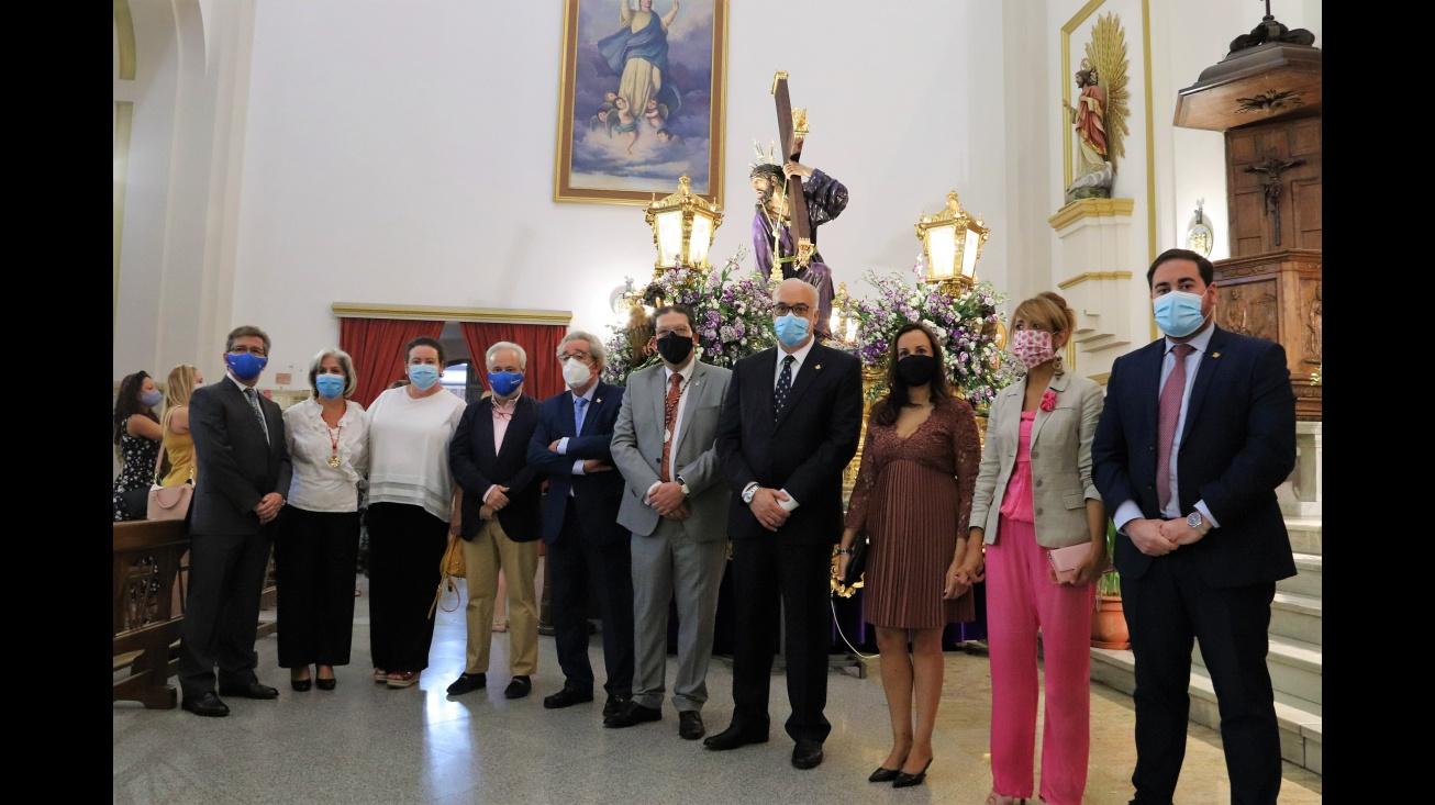 Representantes municipales en la Función Solemne de Jesús del Perdón