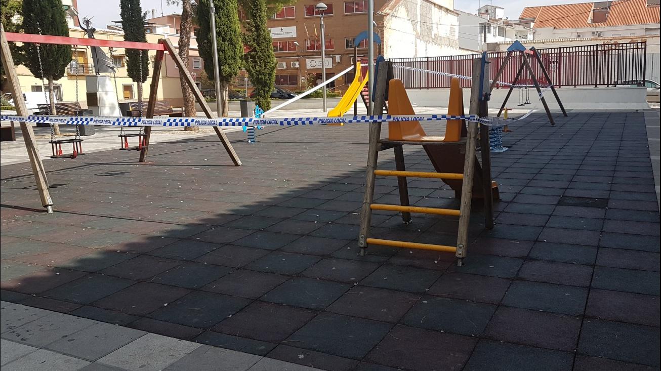 Los parques infantiles también se han cerrado como medida preventiva