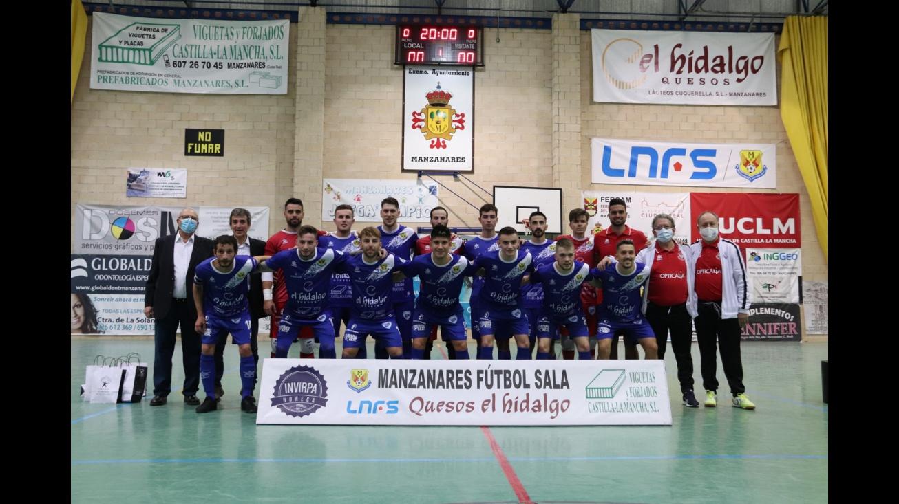 Manzanares FS Quesos El Hidalgo-CD El Ejido Futsal