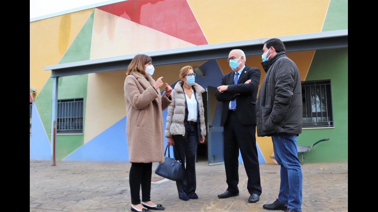 El alcalde ha visitado el inicio de las obras de la nueva Escuela de Música
