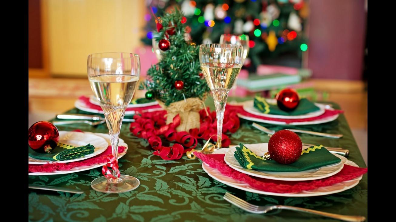 Cena de Navidad (Fotografía de Pixabay)