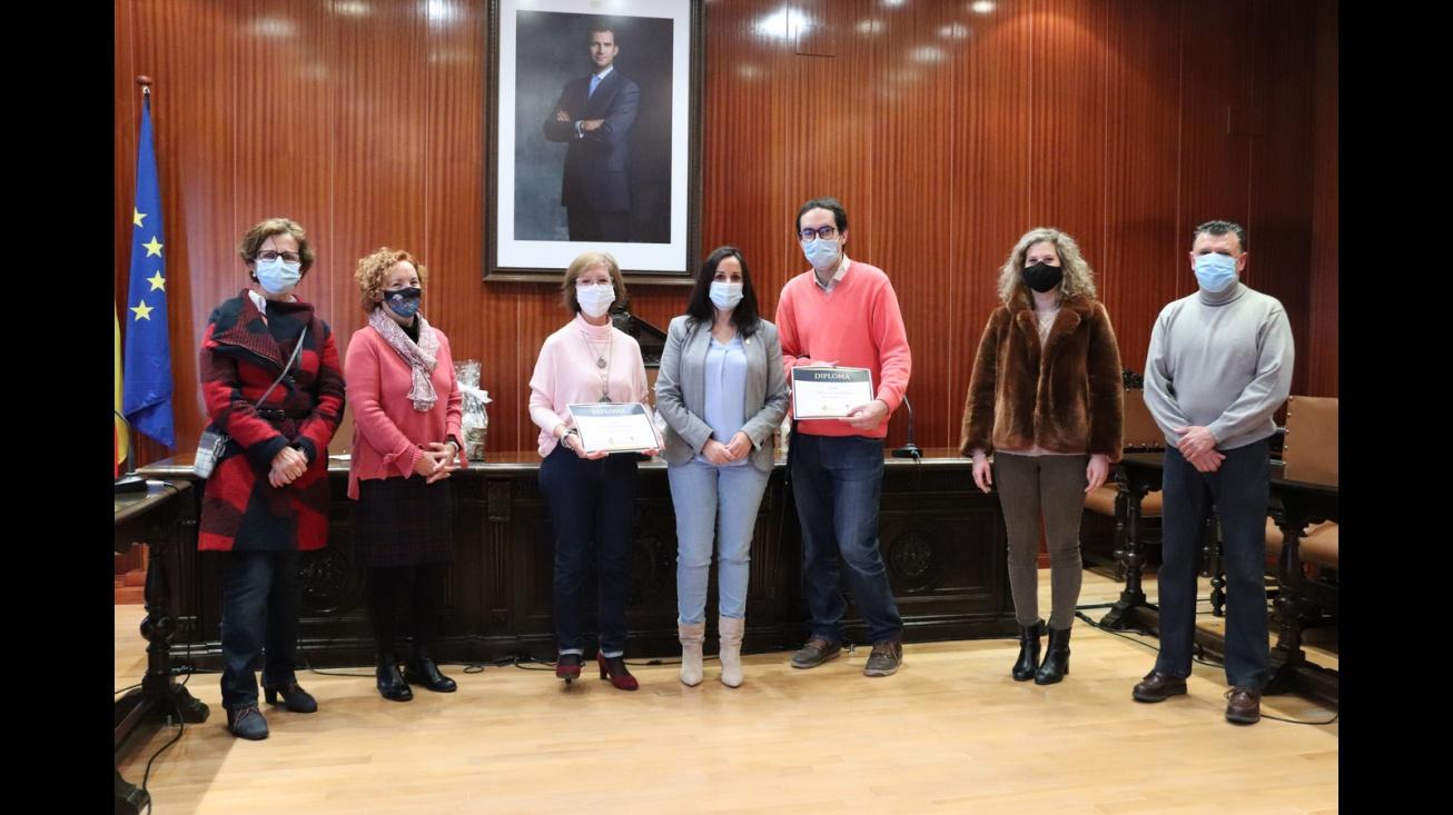 Entrega de premios del I concurso de relato breve 'María Francisca Díaz-Carralero'