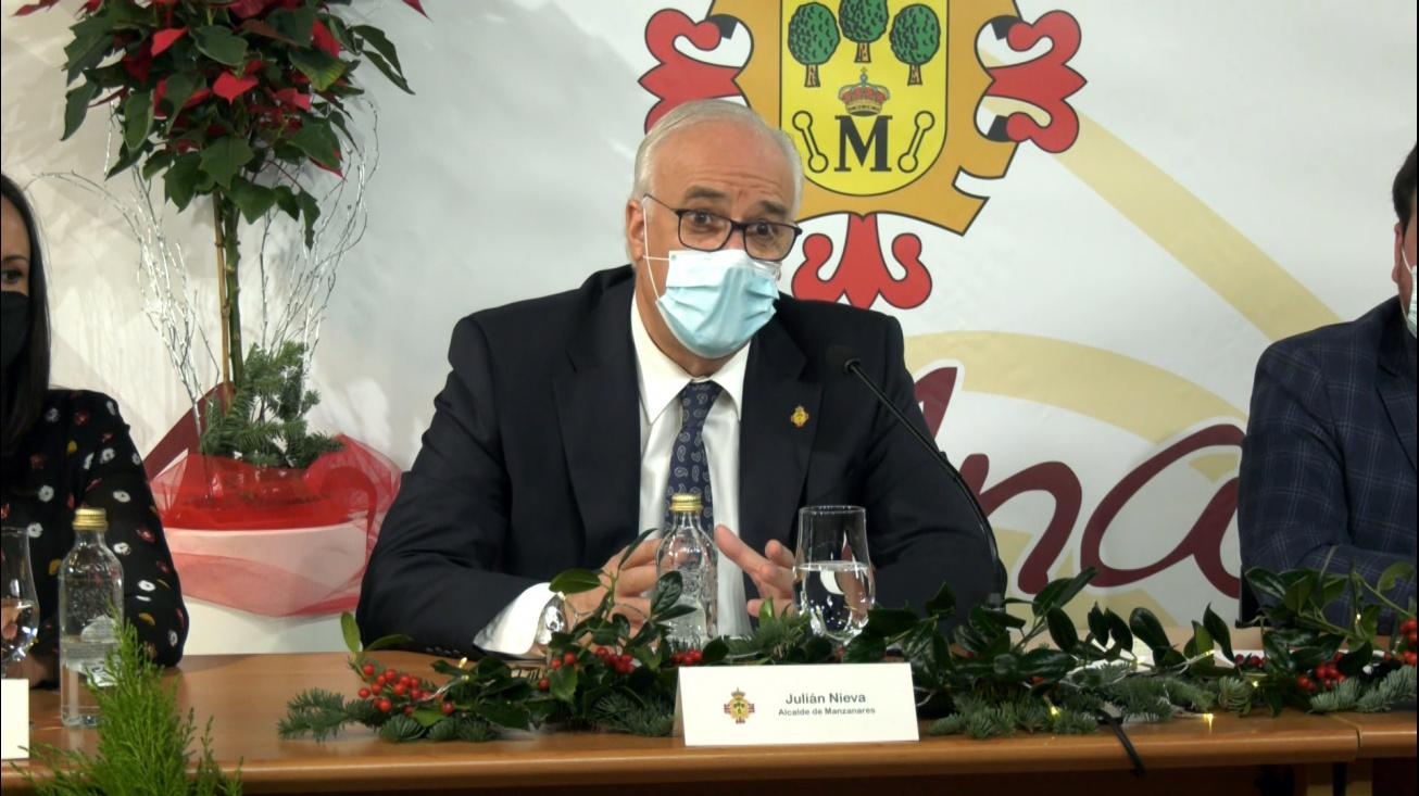 Julián Nieva durante el encuentro digital con los medios de comunicación