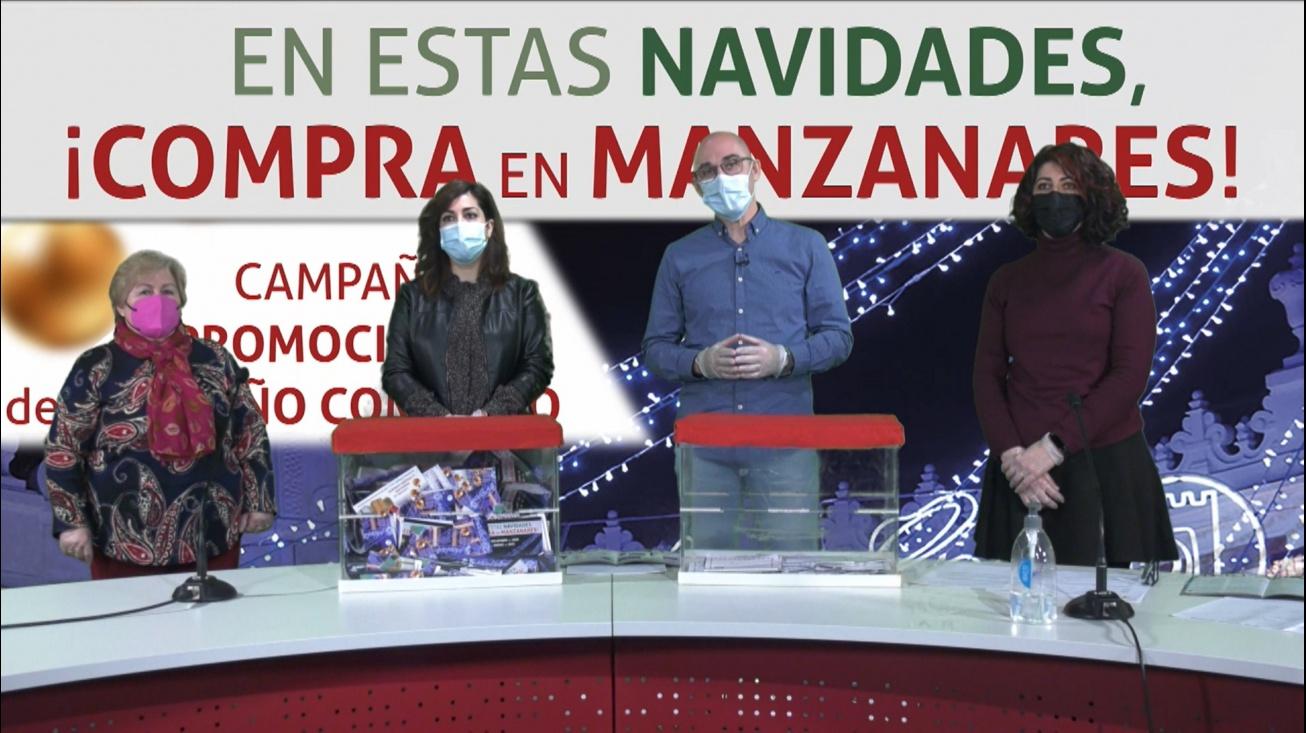 Momentos previos al sorteo celebrado en la televisión municipal