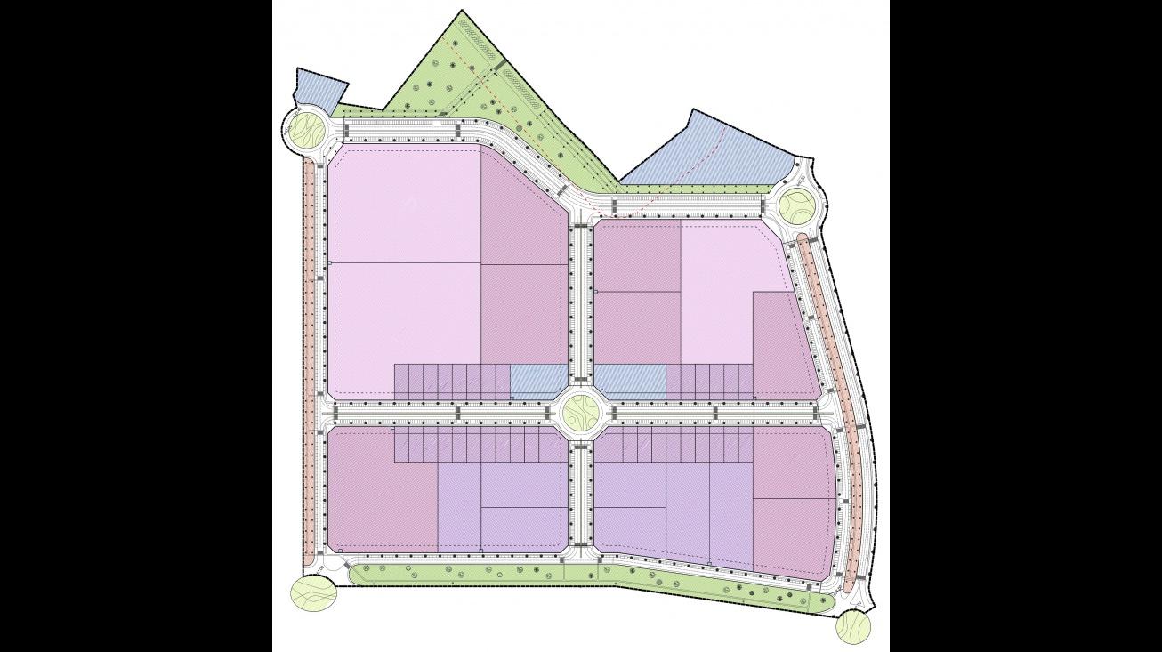 Plano del nuevo Polígono del Sector 5