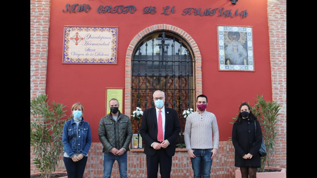 Visita Julián Nieva exposición 'Tesoros de María'