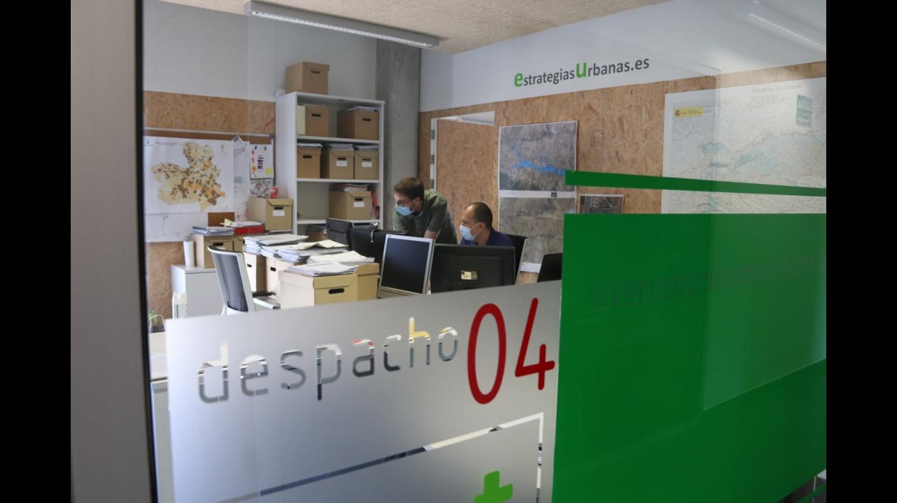 Despacho en el Vivero de Empresas